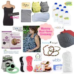 If you're expecting (or know someone who is), check out this Mommy Must-Haves #Giveaway!  Over $400 in prizes from @Yummi Pouch @Buttons Diapers @Omaïki [BIS.KOT] and MORE!