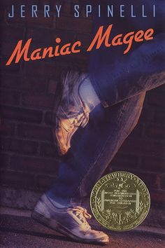 40 Classic Teen Books Every Adult Should Reread #refinery29  http://www.refinery29.com/best-teen-books#slide17  Maniac Magee Author: Jerry Spinelli First published: 1990  An orphaned boy renowned for his athletic prowess and bravery becomes a local legend as he searches for a home in the socioeconomically divided town of Two Mills, Pennsylvania.