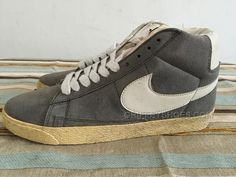 http://www.griffeyshoes.com/nike-dunk-high-suede-grey.html Only$39.00 #NIKE DUNK HIGH SUEDE GREY #Free #Shipping!