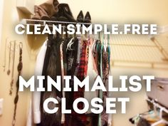 "How I uncluttered my closet easily and finally according to the popular method from Marie Kondo's ""The Life Changing Magic of Tidying Up"" book. After a big c..."