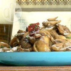 Spanish Garlic Mushrooms @ allrecipes.com.au