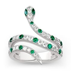 Jeulia offers premium quality jewelry at affordable price, shop now! Snake Jewelry, Cute Jewelry, Stylish Jewelry, Harry Potter Jewelry, Harry Potter Outfits, Magical Jewelry, Accesorios Casual, Snake Ring, Fantasy Jewelry