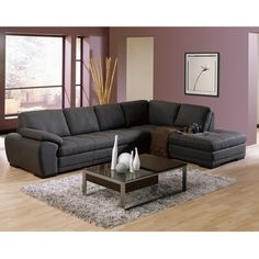Sofa sectionnel tissu ST529 / Fabric sectional sofa ST529