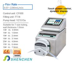 Model No:CF600 Category:Filling System(Intelligent Type) FlowRate:0.07-2280mL/min Product features Intelligent calibration and online micro adjusting function. Can be connected with foot pedal switch or received switch signal,to achieve external control. The unique motor working status output signal,for monitoring the filling status. #laboratory #eliquid #vaping #peristalticpump   #fillingsystem Peristaltic Pump, Filling System, Control Unit, Vape, Monitor, The Unit, Model, Smoke, Electronic Cigarette