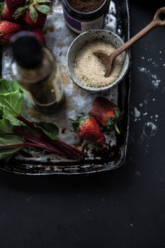 Rhubarb Strawberry Balsamic Jam - Cook Republic