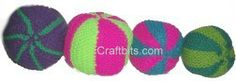 Small Knitted Ball