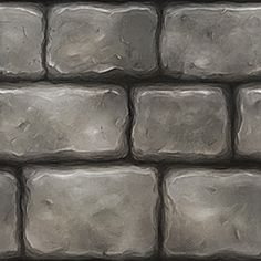 Stone Wall 1 by Devin-Busha on DeviantArt Game Textures, Textures Patterns, Hand Painted Textures, 3d Texture, Texture Painting, Paint Texture, House Drawing, Colour Pallete, Painting Tips