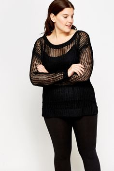 Perforated Knit Jumper for £5 @ Everything5pounds.com
