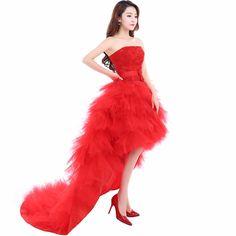54c6ed153db7 Suosikki 2017 Low price the bride royal princess wedding dress short train  formal dress short design wedding growns