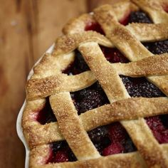 The Culinary Institute of America presents: How to make berry pie for #summer (Photo: Phil Mansfield, The Culinary Institute of America)