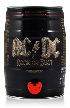AC/DC Premium Beer Fass 5,0L (5% Vol.) - Need something #unique for your next #Party? This #Beer does the Job! // #ACDC #RockDrinks // http://www.rock-drinks.de/Bier/AC-DC-Premium-Beer-Fass-50L-5-Vol::772.html