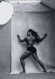Serena Williams Calendrier Pirelli 2016 par Annie Leibovtiz