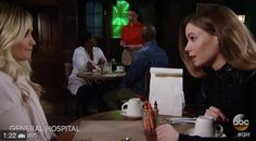 Friday March 31 begins with Sonny (Maurice Benard) at Michael's (Chad Duell) office. Sonny informs Michael that he and Carly (Laura Wright) have split up. Michael is sorry to hear the news but isn't surprised. He knows both parents are strong but they turn it on to each other. Sonny mentions Nelle (