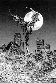 Manga Anime, Anime Eyes, Manga Art, Anime Art, Adventure Time Wallpaper, Anime Watch, Devilman Crybaby, Demon Art, Amazing Spiderman