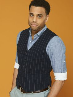 Michael Ealy- Them eyes says it all. Don't speak honey just let me look at ya.