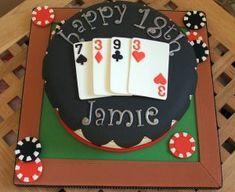 bolo 18 anos masculino Hubby Birthday, 18th Birthday Cake, Birthday Fun, Fondant Cakes, Cupcake Cakes, Fun Cakes, Birth Cakes, Birhday Cake, Different Types Of Cakes