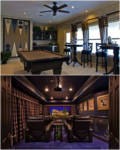 Game room & media room from the Florence model.  http://taylrm.sn/ZqNsyT