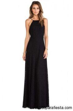 Maxi vestidos negros de fiesta moda verano 2014 http://vestidoparafiesta.com/maxi-vestidos-negros-de-fiesta-moda-verano-2014/