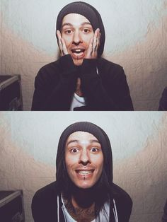 Mike Fuentes being adorable as always
