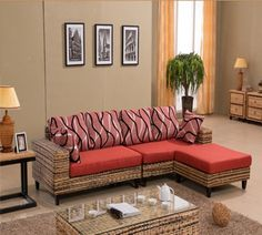 34 Nice Indoor Wicker Furniture Ideas Best For Living Room Decor - Wicker is actually made from various flexible branches usually willow, rattan reeds, grasses, plants, and vines. These durable materials are then wove. Indoor Wicker Furniture, Furniture Sofa Set, Cane Furniture, Types Of Furniture, Furniture Sale, Cheap Furniture, Furniture Design, Furniture Ideas, Living Room Designs