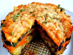 """I love my spring form pans I use them for so many things, I think I have every size they make. They're great for layering vegetables that are """"glued together"""" with various cheese, as in this torte. This recipe was born from small containers of roasted vegetables I had tucked away in my fridge, and …"""