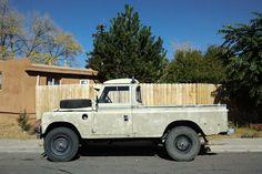 THE STREET PEEP: Land Rover Series IIA Pickup (year?)