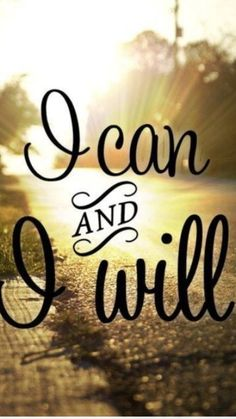 I CAN!!!