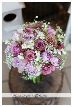 Kwiaciarnia Molucella: BUKIETY ŚLUBNE