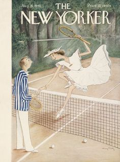The New Yorker - Saturday, August 16, 1941 - Issue # 861 - Vol. 17 - N° 27 - Cover by : Mary Petty