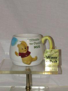 1964 Walt Disney Winnie the Pooh Coffee Mug Enesco Disneyana Cup New With Tags