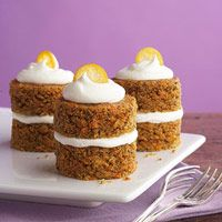 carrot cake cupcakes with cream cheese friendly- Diabetic friendly
