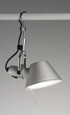 Artemide Tolomeo | Aluminium hook lamp