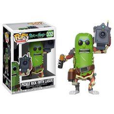 Pre-Order Rick & Morty: Pickle Rick w/Laser Funko POP 332