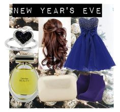 """""""happy new year !!!"""" by it-s-neda ❤ liked on Polyvore featuring Michael Antonio, Calvin Klein, Kevin Jewelers, Serpui, women's clothing, women's fashion, women, female, woman and misses"""