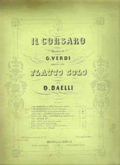 VIVA VERDI 2013: GIUSEPPE VERDI al FLAUTO : L'oboista GIOVANNI DAEL...