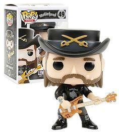 FUNKO POP! Rocks Lemmy Kilmister Motorhead #49 New and Mint #FunkoPop #Collectibles