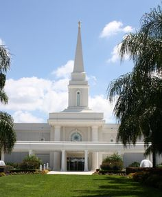 Orlando, Florida LDS Temple Where we were sealed for time and eternity.