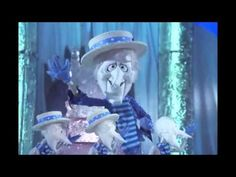 """Heat Miser & Snow Miser from """"A Year Without A Santa Claus"""". My favorite Christmas cartoon."""