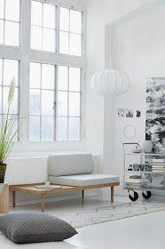 ATELIER RUE VERTE , le blog: Danemark / Une élégante méridienne by Klipklap /