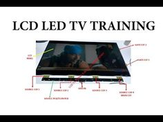 Sony Led Tv, Electronic Circuit Projects, Electronic Engineering, Computer Maintenance, Electrical Circuit Diagram, Lcd Television, Tv Panel, Tv Display, Electronic Schematics