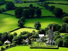 Widecombe in the Moor, Dartmoor, Devon