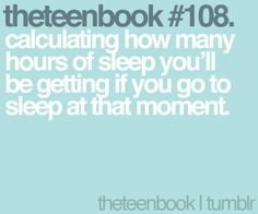 calculating how many hours of sleep you'll be getting if you go to sleep at that moment Literally Me, Books For Teens, Go To Sleep, Story Of My Life, In My Feelings, We Heart It, Qoutes, Haha, In This Moment