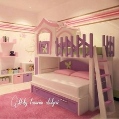 MobyTasarım  www.mobytasarim.com  #gencodasi #cocukodasi #cocukodalari #gencodalari #young #youngroom #denizlicocukodasi #denizligencodasi #instalike #instagood #instababy #instacool Kids Bedroom Designs, How Big Is Baby, Baby Decor, Bunk Beds, Little Girls, Kids Room, Toddler Bed, Room Ideas, New Homes