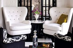 glam living room decor | All for Love | California Home + Design