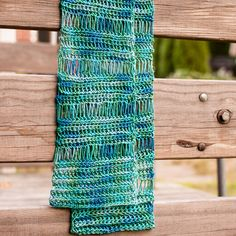 Beautiful Broomstick Lace Scarf | AllFreeCrochet.com