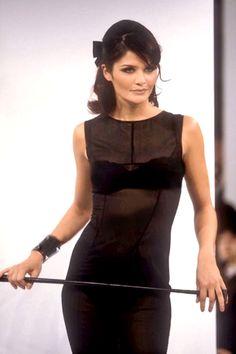 Helena Christensen - Dolce & Gabbana,  Fall/Winter 1995