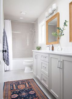 traditional bathroom styling by The Weathered Door