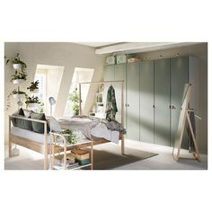 IKEA offers everything from living room furniture to mattresses and bedroom furniture so that you can design your life at home. Check out our furniture and home furnishings! Boys Room Decor, Boy Room, Kids Room, Pax System, Recycled Door, Wardrobe Systems, Ikea Pax Wardrobe, Soft Closing Hinges, Nordic Interior