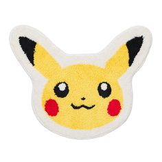 Pikachu Fluffy Bath Mat
