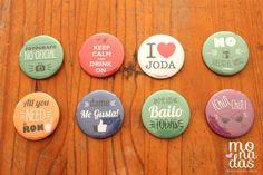 Pins para Casamiento! #monadas #boda #casamiento #fiesta #pins #buttons #frases http://www.monadaseventos.com.ar/pins-para-casamiento/